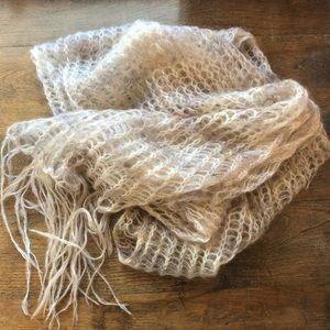 Murielle Alpaca Knit Scarf